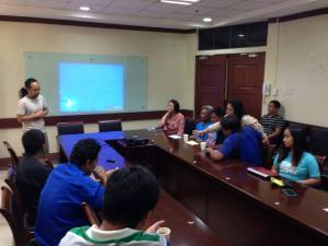 CITRASCO Transport Group representative and Mabolo drivers attended the short presentation about the ordinance