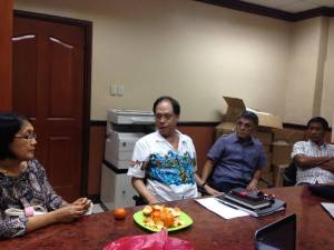 Councilor Nida Cabrera, Atty. Antonio Oposa, Jr., Al Arquillano and Brgy Capt Jovito Taborada, Jr.