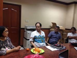 Councilor Nida Cabrera, Atty. Antonio Oposa, Jr., Al Arquillano and Brgy Capt Jovito Taborada, Jr.