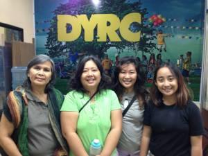 (L-R) Atty. Gloria Estenzo-Ramos, Edna Lee, Mishka Watin, Monica Manluluyo